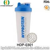 يحرّر [400/600مل] [ببا] بلاستيكيّة [بّ] بروتين رجّاجة زجاجة