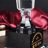 Nuevo premio trofeo de cristal para dar a la campeona, de buena calidad Ang precio barato