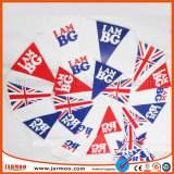 Полиэстер красочные ткани бунтинг флаг