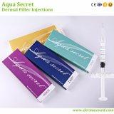 Enrugamentos antienvelhecimento hialurónicos ácidos Injectable do enchimento da face