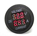 Цифровой вольтметр 12-24 V красный светодиодный индикатор напряжения двигателя автомобиля с помощью амперметра панели тестер дозатора