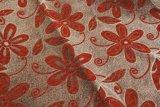 Tela de tapicería barata de la tela del sofá del Chenille del telar jacquar 100%Polyester