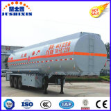 半トレーラーの三車軸Fuwa/BPWブランドのオイルまたは燃料のタンカーのトレーラー