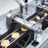 Biscuit chocolat automatique du placement de la machine avec machine de conditionnement