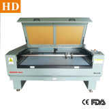 Los textiles de cuero tejido de la máquina cortadora láser 1390