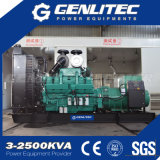 Aprire il tipo gruppo elettrogeno diesel montato serbatoio di combustibile basato 600kw/750kVA di Cummins