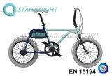 Tsinova, das intelligentes Elecric Fahrrad mit dreifachem Fühler auflädt