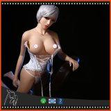 Poupée adulte d'amour de grande bande de sein et de fesses de vie réelle de l'attrait 165cm de poupée squelettique parfaite de sexe