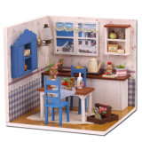 Últimas populares casa de muñecas de madera con la educación