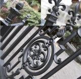 Porta de aço do jardim do metal revestido decorativo da potência da cor