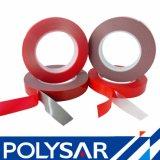 Doppeltes versah Polyester-Ineinander greifen-weich sanftmütiges Acrylschaumgummi-Band mit Seiten