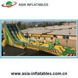 Гигантские Inflatabledouble полос водные горки