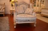 La mano di legno solido 0067 ha intagliato il sofà normale classico di verniciatura afflitto