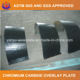 Carboneto do cromo que afronta a placa do desgaste para a placa da distribuição