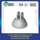 머리 위 선 이음쇠 또는 Procelain 절연체 모자 또는 연성이 있는 던지기 Iron/45kn-600kn