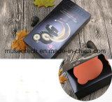 El logotipo de color negro caja de papel estampado fábrica para la peluca/Cosmética