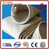 Sachet filtre de Nomex/sachet filtre de température élevée