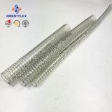 Alta calidad de PVC transparente flexible de alambre de acero