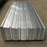 Hojas acanaladas del material para techos del Galvalume de la capa de aluminio del cinc del material de construcción