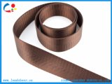Top Grade écologique sangle en nylon pour ceinture marron