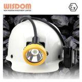 2016年構築のヘルメットライト、炭鉱作業員のヘッドライトKl12mの