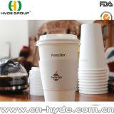 Taza de papel del café caliente disponible de gran tamaño de 22 onzas
