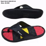 Solado de cores do arco-íris homens Beach Flip-flop EVA chinelos