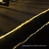 방수 10m136LED는 홈 또는 휴일 또는 크리스마스 훈장을%s 백색 관 끈 빛을 데운다