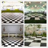 Usager populaire noir et blanc Dance Floor de la vente 2017 chaude Wedding des airs de Dance Floor