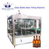 Botella de vidrio automática máquina de llenado de cerveza
