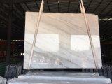 A China em mármore branco Carrara Azulejos polido&Brames bancada