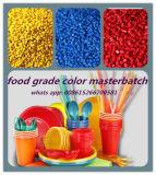 Materia plastica nera di Masterbatch Masterbatches di colore di plastica standard del commestibile della FDA