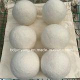 カスタマイズされたサイズのハンドメイドのドライヤーのウールの球中国製