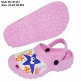 Beau design mignon EVA Rose sabots de jardin pour les enfants EVA Chaussures en pantoufles