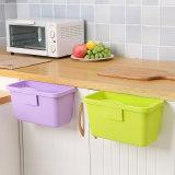 Gabinete plástico creativo la basura de la cuchara de almacenamiento de residuos de cocina cuarto de baño Caja de pared