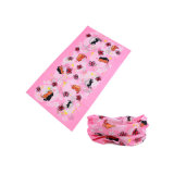Couleur Rose Kids cou tube enfants foulard (YH-HS445)