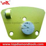Rodas de moedura do Trapezoid do diamante do preço de fábrica para o concreto de lustro