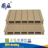 100%再生利用できるWPCのDeckingの木製のプラスチック合成のフロアーリング174*25mm