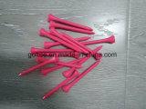 Qualitäts-buntes hölzernes oder Bambusgolf-T-Stück