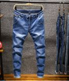 Fabrik-preiswerte Denim-Jeans der Großhandelsjeans-Kleid-Männer