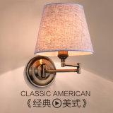 Самомоднейший светильник стены конструкции гостиницы спальни с выходом силы