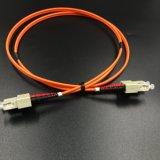 Aus optischen FasernSteckschnür mm, Sc/Upc Duplex für optisches Zugriffs-Netz