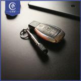 알루미늄 3 LED 저속한 가벼운 주문 로고 빛난 열쇠 고리