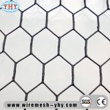 PVC покрыл после соткать шестиугольную сетку