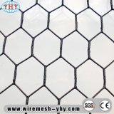 PVCは六角形の網を編んだ後塗った