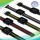 V6 Bluetooth 팔찌 IP67는 지적인 시계를 감시하는 동시 심박수를 방수 처리한다