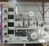 Automatische Flexo Drucken-Maschine mit dem Bedecken