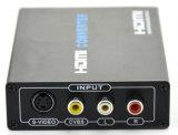 Het hete Verkopen Samengestelde 3RCA aan Convertor HDMI voor tV/Video/Recorder/Vhs/VCR/DVD/Blu-Straal Speler