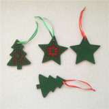 Estrellas de fieltro fieltro árbol Angel renos decoración adornos de fieltro