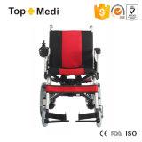 Sedie a rotelle elettriche pieghevoli del dispositivo di presa di forza di vendita calda dell'apparecchio medico